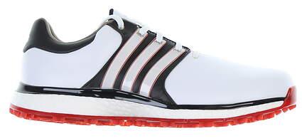 Brand New 10.0 Mens Golf Shoe Adidas Tour360 XT-SL Medium 12 White/Red BB7915
