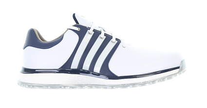New Mens Golf Shoe Adidas Tour360 XT-SL Medium 9.5 White/Blue 1910371 MSRP $170