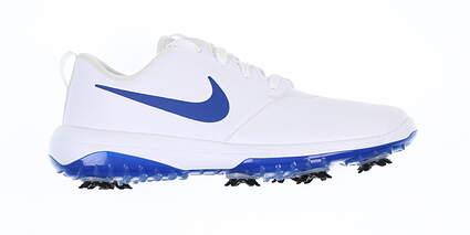 New Mens Golf Shoe Nike Roshe Tour G Medium 9.5 White/Blue AR5580 101 MSRP $110