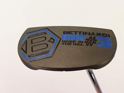 Mint Bettinardi Studio Stock 3 Putter Steel Right Handed 34.75in