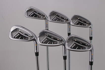 Ping I20 Iron Set 4-9 Iron True Temper Dynamic Gold S300 Steel Stiff Right Handed Yellow Dot 38.0in