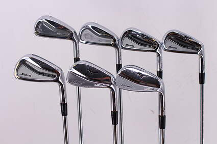 Mizuno MP-H4/MP-54/MP-4 Combo Iron Set 4-PW Stock Steel Shaft Steel Regular Right Handed 37.75in