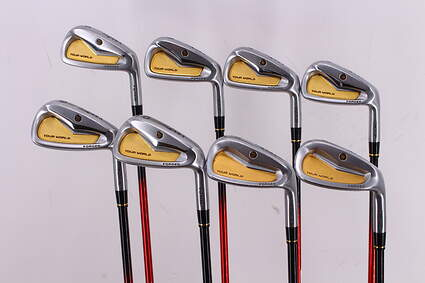 Honma Tour World TW717P Iron Set 5-PW GW SW ARMRQ8 54 Graphite Senior 38.25in