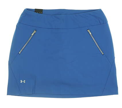 New Womens Under Armour Golf Skort Large L Blue UW6668 MSRP $70