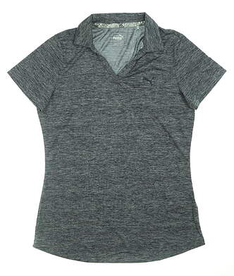 New Womens Puma Super Soft Polo Small S Peacoat 577926 05 MSRP $55