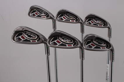 Ping G15 Iron Set 5-PW Ping AWT with Cushin Insert Steel Regular Right Handed Green Dot 38.5in