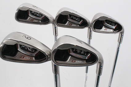 Ping G20 Iron Set 6-PW Ping CFS Steel Regular Right Handed Blue Dot 38.0in