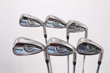 Ping 2016 G Iron Set 5-PW AWT 2.0 Steel Regular Right Handed 38.5in