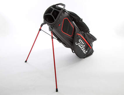 Mint 9.5 Titleist Players 4 Plus Black/White/Red Stand Bag