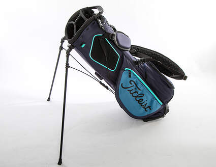 Mint 9.5 Titleist Players 4 Plus Navy/Bay/Glass Stand Bag