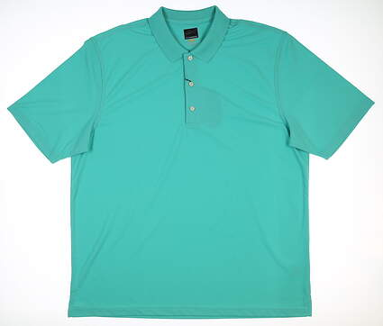 New Mens Greg Norman Pro Polo XX-Large XXL Jade G7S3K440 MSRP $45