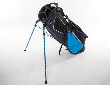 Mint 9.5 Titleist Players 4 Plus Navy/Glacier/Black Stand Bag