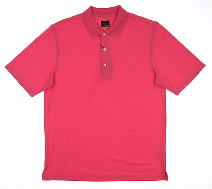 New Mens Greg Norman Pro Series Polo Medium M Pink G7S3K440 MSRP $45