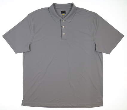 New Mens Greg Norman Pro Series Polo XX-Large XXL Gray G7S3K440 MSRP $45