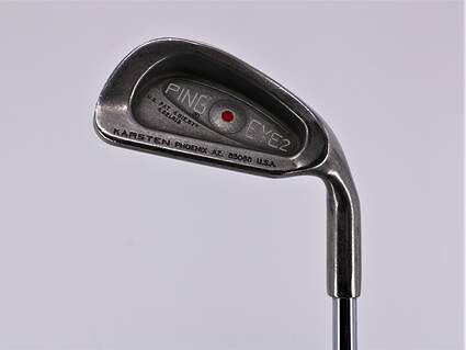 Ping Eye 2 Single Iron 4 Iron Ping ZZ Lite Steel Stiff Right Handed Red dot 38.25in
