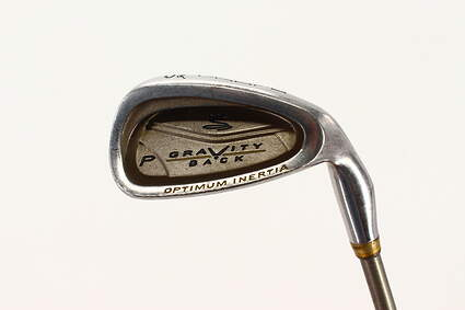 Cobra Gravity Back Single Iron Pitching Wedge PW 46° Stock Graphite Shaft Graphite Ladies Right Handed 35.5in