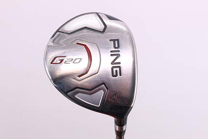 Ping G20 Fairway Wood 4 Wood 4W 16.5° Ping TFC 169F Graphite Senior Right Handed 42.75in