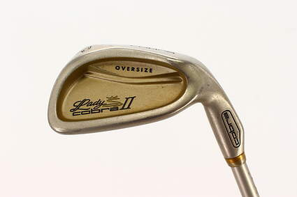 Cobra Lady II Oversize Single Iron Pitching Wedge PW Cobra IQ System Hump Graphite Ladies Right Handed 35.5in