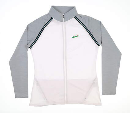 New W/ Logo Womens Footjoy Golf Full Zip Jacket Medium M Multi 27579 MSRP $95