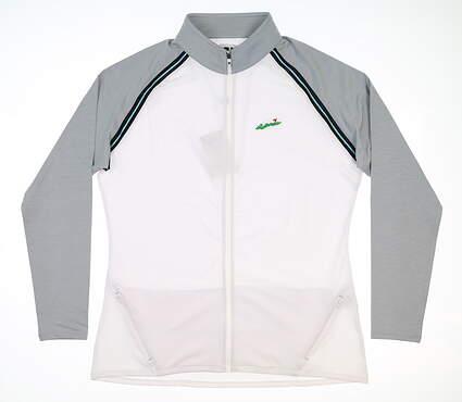 New W/ Logo Womens Footjoy Golf Full Zip Jacket Large L Multi 27579 MSRP $95