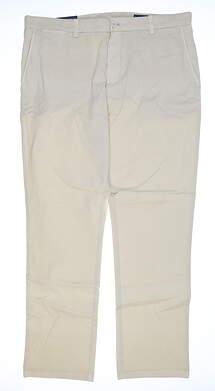 New Mens Vineyard Vines Slim Fit Golf Pants 35x30 Stone 1P1290 MSRP $98.50