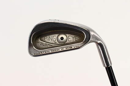 Ping Eye 2 Single Iron 5 Iron SK Fiber Tour Trac 80 Iron Graphite Regular Right Handed Black Dot 38.0in