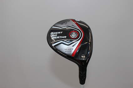 Callaway 2015 Great Big Bertha Fairway Wood 7 Wood 7W 20° Mitsubishi Fubuki Z 65 Graphite Regular Right Handed 43.0in