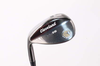 Cleveland CG15 Black Pearl Wedge Lob LW 60° 12 Deg Bounce Cleveland Action Ultralite 50 Steel Wedge Flex Left Handed 36.0in