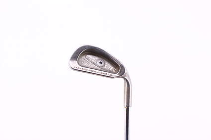 Ping Eye 2 + Single Iron 4 Iron Rifle 6.5 Steel X-Stiff Right Handed Black Dot 39.5in