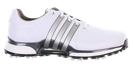 New Mens Golf Shoe Adidas Tour360 XT 11 Wide White/Grey BD7123 MSRP $200