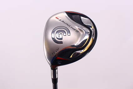 Cleveland 2008 Launcher Fairway Wood 5 Wood 5W 19° Cleveland Fujikura Fit-On Red Graphite Regular Left Handed 43.25in