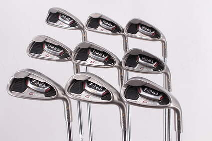 Ping G20 Iron Set 4-PW SW LW Ping CFS Steel Regular Right Handed Gold Dot 37.5in