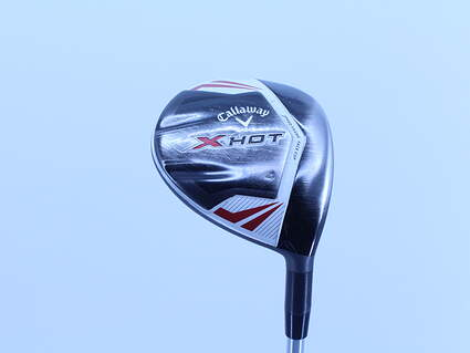 Callaway 2013 X Hot Fairway Wood 4 Wood 4W 16.5° Project X PXv Graphite Stiff Right Handed 43.5in