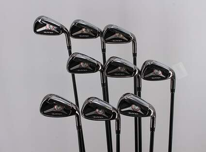 TaylorMade 2009 Burner Iron Set 3-PW GW TM Reax Superfast 65 Graphite Stiff Right Handed 38.5in