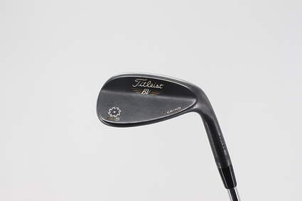 Titleist Vokey SM5 Raw Black Wedge Sand SW 56° 10 Deg Bounce S Grind Titleist SM5 BV Steel Wedge Flex Right Handed 35.5in