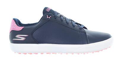 New Womens Golf Shoe Skechers Go Golf Drive Shimmer Medium 9 Navy/Pink MSRP $105