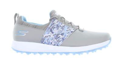 New Womens Golf Shoe Skechers Go Golf Max Lag Medium 7 Gray/Blue MSRP $85
