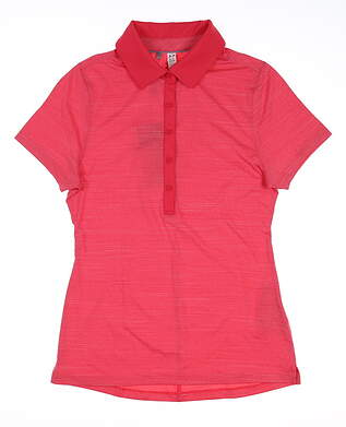 New Womens Under Armour Golf Polo X-Small XS Pink UW2336 MSRP $70