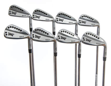 PXG 0311 P GEN2 Chrome Iron Set 4-PW GW KBS Tour 130 Steel X-Stiff Right Handed 39.0in