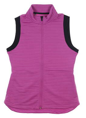 New Womens Under Armour Storm Full Zip Vest Medium M Purple UW1297 MSRP $80