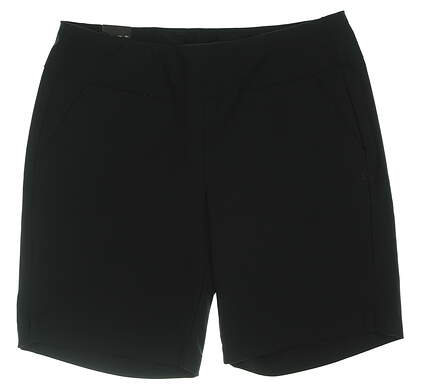 New Womens Under Armour Links Golf Shorts Large L Black UW6679 MSRP $72