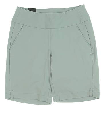 New Womens Under Armour Links Golf Shorts Large L Gray UW6679 MSRP $72