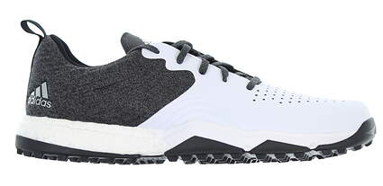New Mens Golf Shoe Adidas Adipower 4orged S Medium 8.5 White/Grey MSRP $130