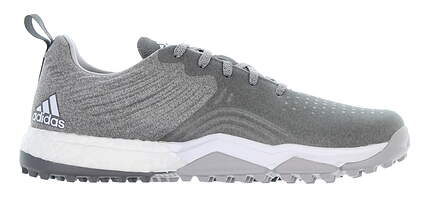 New Mens Golf Shoe Adidas Adipower 4orged S Medium 9.5 Gray DA9430 MSRP $130