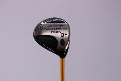 Callaway Steelhead Plus Fairway Wood 3+ Wood 13° UST Proforce 65 Gold Graphite Stiff Right Handed 43.75in