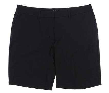 New Womens Nike Bermuda Golf Shorts 2 Black MSRP $70