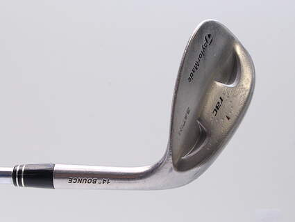 TaylorMade Rac Satin Tour Wedge Sand SW 56° 14 Deg Bounce Stock Steel Shaft Steel Wedge Flex Right Handed 35.5in