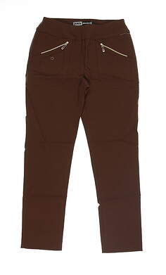 New Womens Jamie Sadock Perfect FIt Pant 2 Brown 51392 MSRP $122