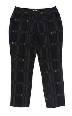 New Womens Adidas Novelty Pants Small S Black/Gray BC7375 MSRP $88