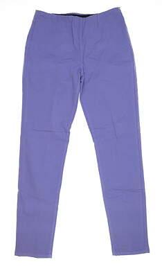 New Womens Straight Down Pants Large L Purple W50111 MSRP $118